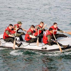 """Tróia: 150 cadetes da Escola Naval """"emprova"""""""