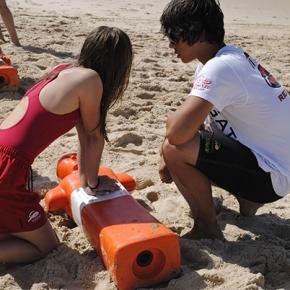 Centenas de nadadores-salvadores júnior aprendem segurança e prevenção nomar