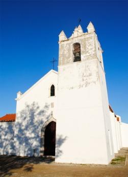 A Igreja Matriz de Alvalade foi classificada como Imóvel de Interesse Público em 2013 |Foto: Ângela Nobre/Arquivo|