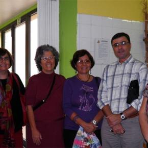 Dirigente do MDM cubano visitou Santiago doCacém