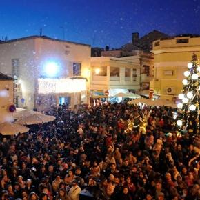A magia do Natal no centro histórico deSines