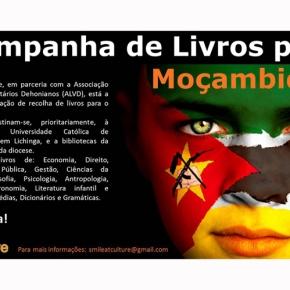 Recolha de livros paraMoçambique