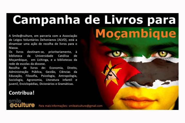 Campanha de Livros - Moçambique