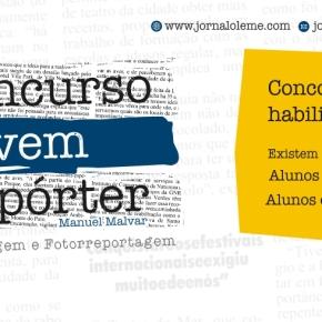 2.º Concurso Jovem Repórter dá entre 150 e 250euros