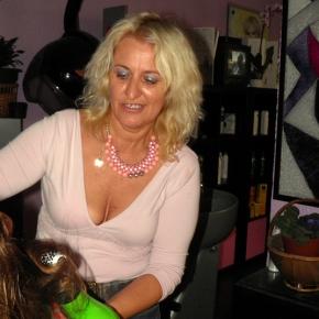 Fátima Ruivo, cabeleireira porsonho