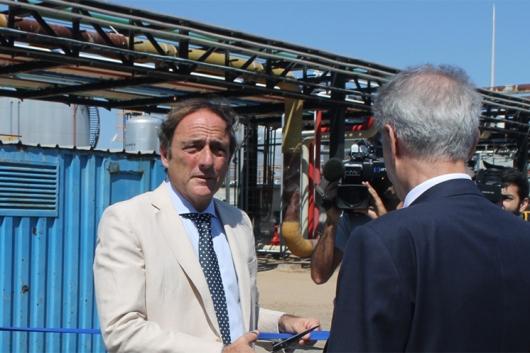 A Ecoslops foi inaugurada no passado dia 27 de junho pelo vice-primeiro ministro  Foto: Helga Nobre 