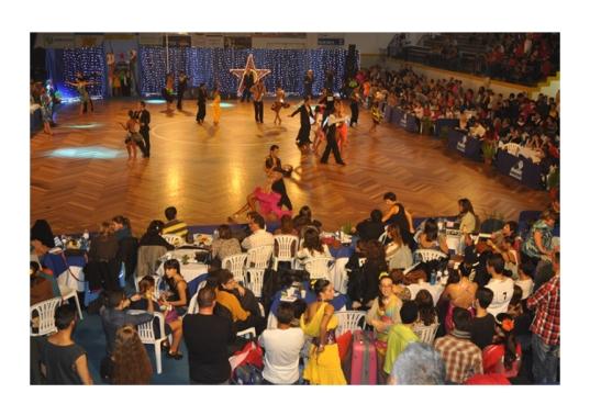 O 16.º Festival de Danças de Salão e Latino-americanas conta com a participação de cerca de 200 pares