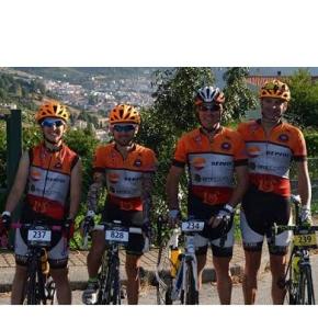 Atletas do G.D. da Repsol presentes na Serra daEstrela