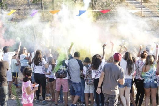 A juventude tomou conta do Parque Central em Vila Nova de Santo André com mais uma edição do Festival das Cores