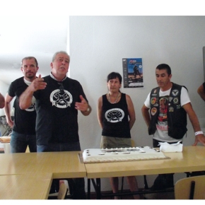 Grupo Motard de Santo André inaugurou a novasede