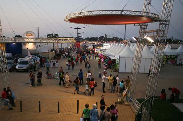 O picadeiro da feira vai receber mais atividades durante o certame