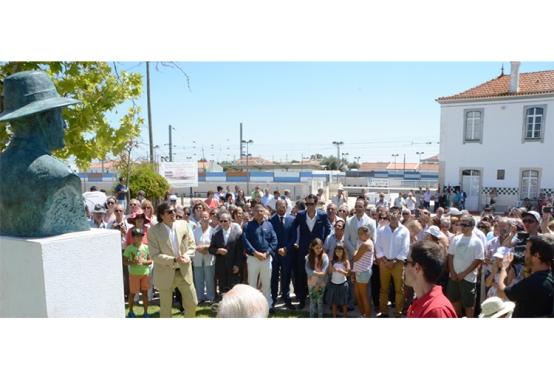 Centenário de Ermidas-Sado celebrado com homenagem a Manuel Joaquim Pereira, lavrador proprietário da herdade que deu lugar à vila |Foto: CMSC|