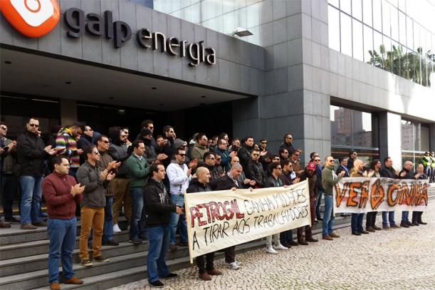 Além da greve, os trabalhadores deslocaram-se a Lisboa este mês para protestar