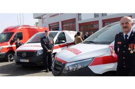 Novas ambulâncias representam investimento de 200 mil euros |Foto: Helga Nobre|