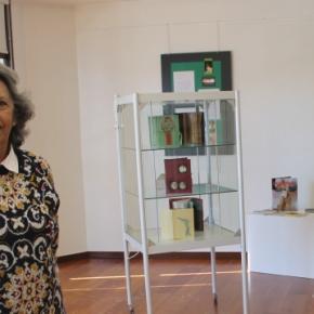 Graça Lagrifa mostrou 'A pele dos livros' em Santiago doCacém