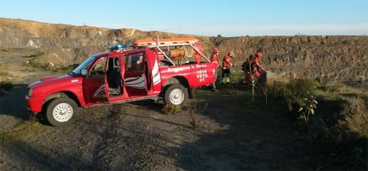 No local estiveram 9 elementos dos bombeiros de Sines apoiados por 3 viaturas, APS e GNR |Foto: Helga Nobre|