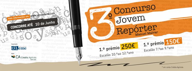 o Leme - 3 Concurso Jovem Reporter - Facebook cover