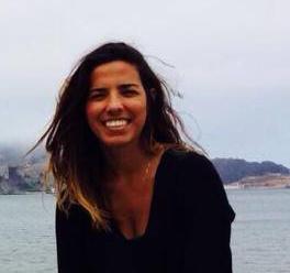 Sara Barbosa, em NY, EUA