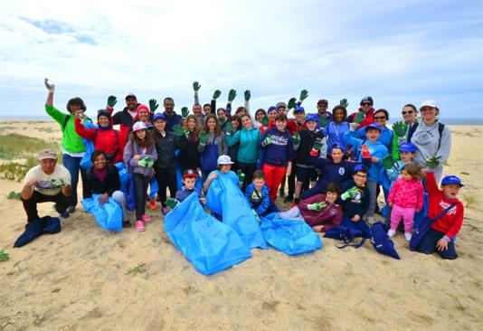 A intenção é estender a iniciativa a outras praias do concelho |Foto: CMS|