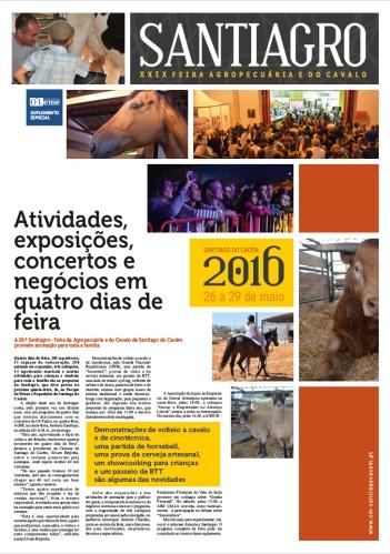 A 29.ª Santiagro - Feira da Agropecuária e do Cavalo de Santiago do Cacém promete animação para toda a família