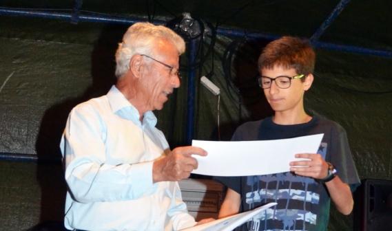 Sara Silva e Ana Cerdeira foram também premiadas no concurso promovido pelo jornal O Leme com o apoio do Crédito Agrícola da Costa Azul |Foto: Mário Afonso|