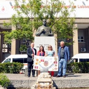 Lions de Santiago entregam donativo ao IPO de Lisboa serviço depediatria