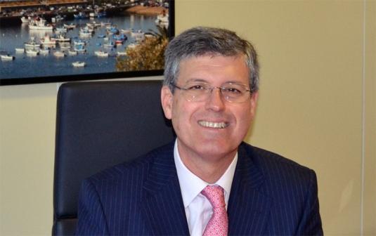 Joaquin Garcia-Estañ, diretor geral da Repsol Polímeros, em Sines