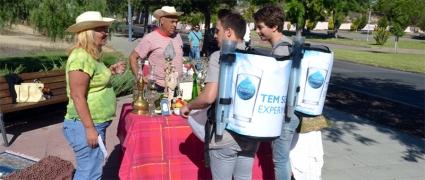 Campanha de Sensibilização para o Consumo de Água da Torneira |Foto: Mário Afonso|