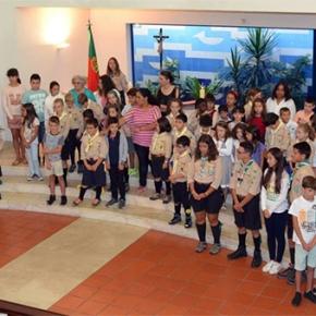 Reabertura do ano pastoral com as crianças ejovens