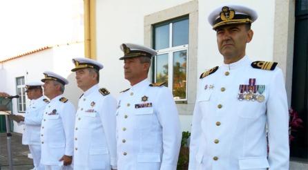 Manuel Sá Coutinho é novo comandante local da Policia Marítima de Sines  Foto: Helga Nobre 