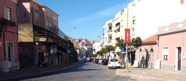 A Câmara de Santiago do Cacém deu início, no passado dia 17 de outubro, à empreitada de requalificação da Rua Egas Moniz, na cidade de Santiago do Cacém |Foto: CMSC|