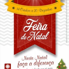 Cáritas organiza Feira de NatalSolidária