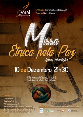 Missa Étnica pela Paz junta coros do distrito deSetúbal
