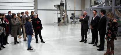 A unidade fabril, que pretende exportar metade da produção, resulta de um investimento de 1,5 milhões de euros o programa StartUP Portugal |Foto: CMG|