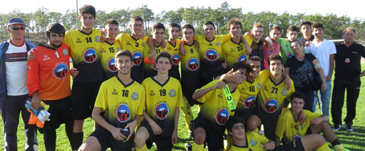 Futebol: Campeonato Distrital de Juniores - 2.ª Divisão