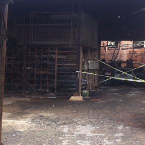 Incêndio consumiu armazém em Ermidas doSado