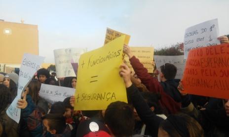 Protesto escolas 30 janeiro Santo André