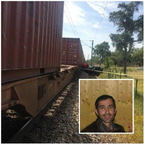 Taxista de Abela perde a vida em colisão comcomboio