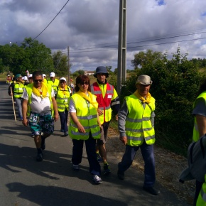 Grupo de 50 peregrinos vai percorrer 280 quilómetros atéFátima