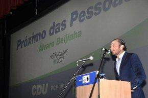 Autárquicas 2017: Álvaro Beijinha (CDU) quer estar mais próximo das pessoas caso seja eleito no próximomandato