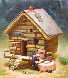 Jovializar por Aí: Ler? Escrever? Paraquê?!