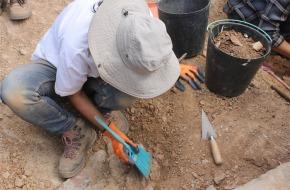 Estudantes universitários participam em campanha arqueológica emMiróbriga