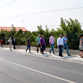Requalificação de estrada entre Vila Nova de Santo André e aldeia de Santo Andréconcluída