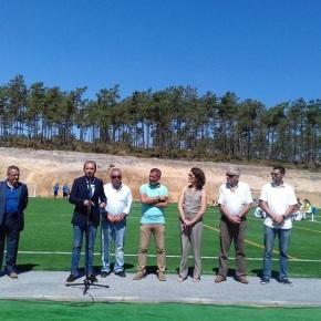 Estrela de Santo André inaugurou o campo de relvasintética