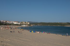 Reposição de areias na praia da Franquiaconcluída