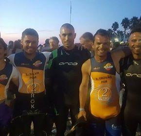 Cinco atletas do GDCT da Repsol Polímeros estiveram emCascais
