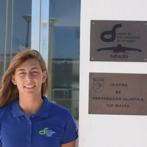 Nadadora do CNLA entra no AltoRendimento