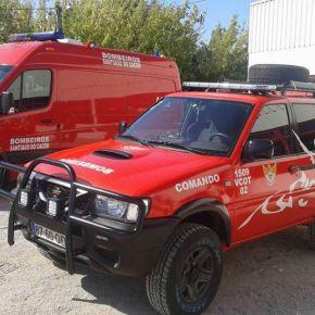 Bombeiros Mistos de Santiago do Cacém batizam ambulância ejipe