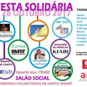 Cáritas de Santo André e AMISSA organizam FestaSolidária
