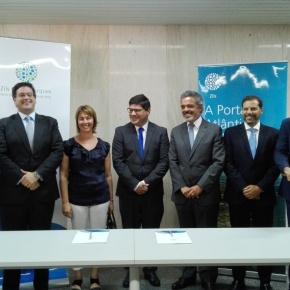 Novo cabo submarino de fibra ótica direto liga América Latina e Europa através deSines